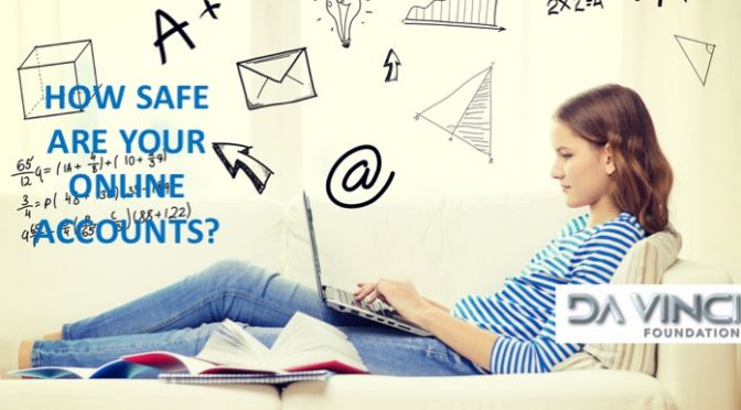 How do you ensure your Online accounts are safe?  Follow these 5 easy steps