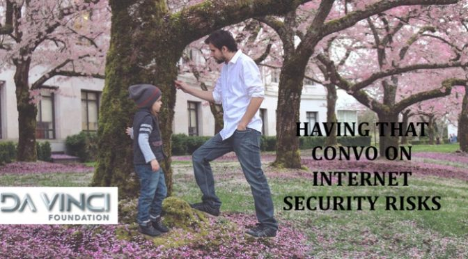 Having that conversation with your child on internet security risks